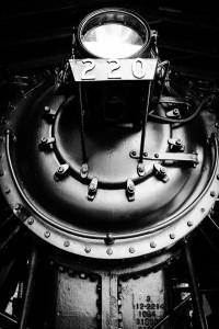 Locomotive in Shelburne, Vermont