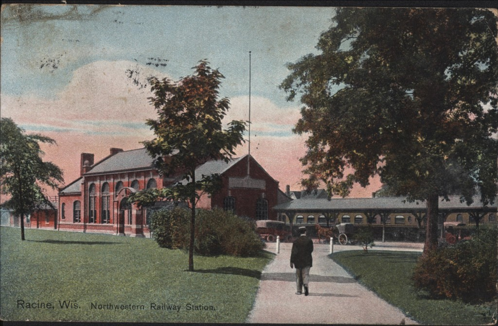 Northwestern Railway Station on State Street, 1913