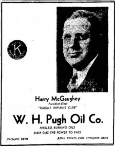 Harry McGaughey, Nov. 14, 1935