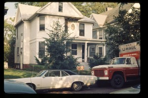 1405 College Ave., moving day, 1970