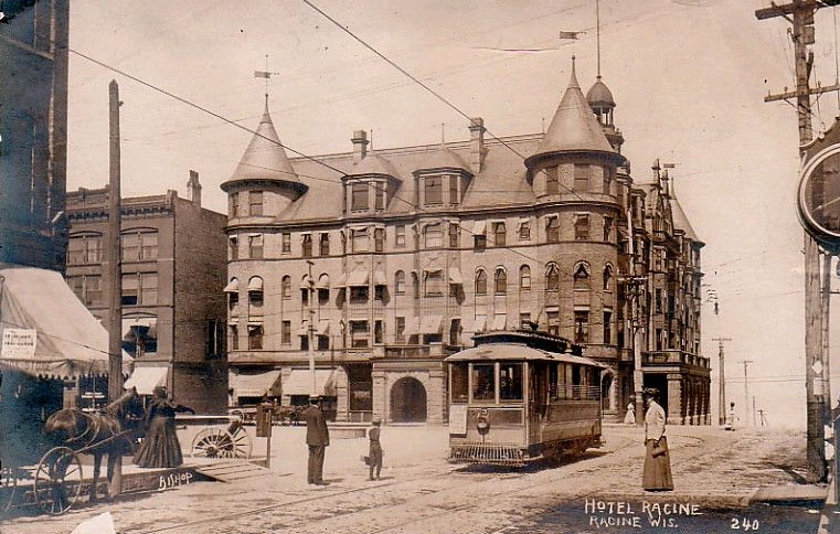 Hotel Racine Ca 1910 By Photographer Bi