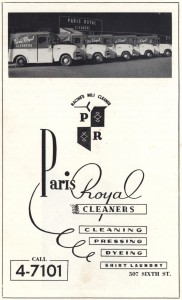 "1955 advertisement in the ""Welcome to Racine"" booklet"