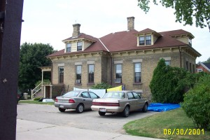 Rectory on same block as St. Catherine's Convent