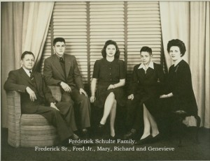 Frederick Schulte and family