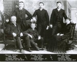 Joseph Miller was Clara Schweitzer Bernhardt's uncle