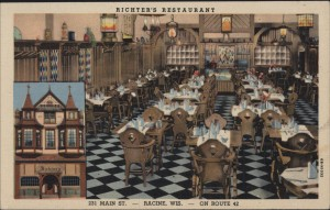 Richter's Restaurant, 231 Main Street, Racine, Wis.