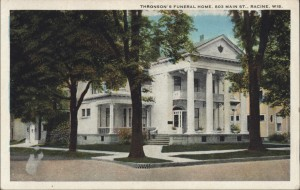 Thronson's Funeral Home, now Maresh-Meredith & Acklam Funeral Home, onetime house of Dr. Shoop