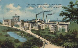 Horlick factory, birds-eye view