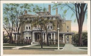 Masonic Club, 1012 S. Main Street, Racine, Wis.
