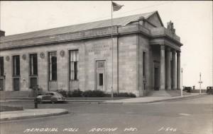 Memorial Hall, 1947