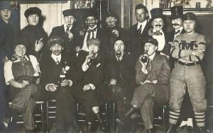 Women dressing as men - circa 1910 3