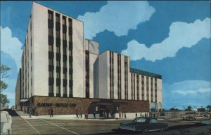 """Pride of Racine, the all new Racine Motor Inn, Sixth & Main Streets, Racine, Wisconsin 53403. Overlooking beautiful Lake Michigan."""