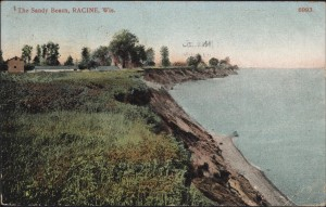 The Sandy Beach, Racine, Wis.