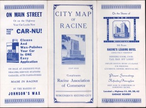 Racine Association of Commerce guide to Racine