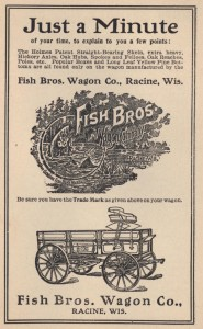 Fish Brothers Wagon Company, 1905 advertisement