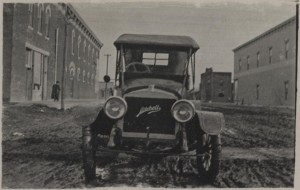 Mitchell automobile from a real photo post card