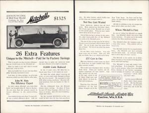 1910 Mitchell car