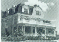 Emily, Robert Baker's widow, built this house in 1893 at 116 Tenth Street