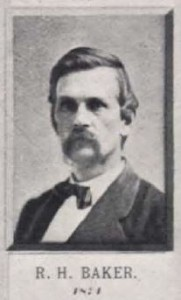 R. H. Baker pictured in Leach's The Methodist Church and Early Racine