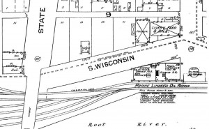 Racine Linseed Oil company in 1887