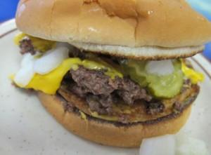 Kewpee burger