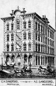 Advocate Building, 1883