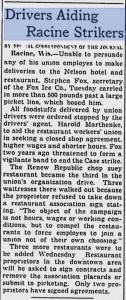 Some union trouble in 1936