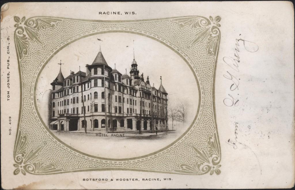 Hotel Racine, 1905