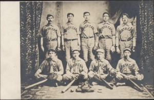 North Cape baseball team, ca. 1905-1910