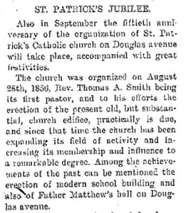 From a July 25, 1906 Racine Journal article