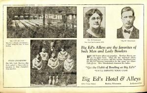 Big Ed Mandernak's bowling alley