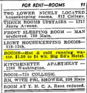 big_eds_hotel_1935_Racine_Journal_Times