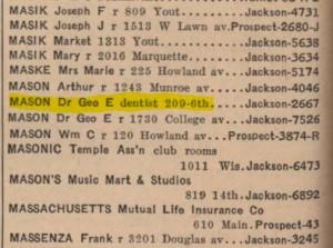 1940_phone_book_george_mason_dentist