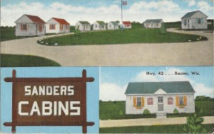 Sanders Cabins, front