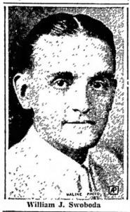 William J. Swoboda, 1936
