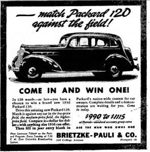1935 Packard ad