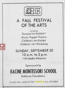Mrs. James Hall and the Racine Montessori School, Racine Journal Times, 1973 06 17