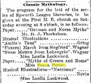 Miss Porter presents myths of Greece and Rome, 1901