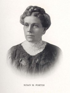 Susan Porter from the Racine High School Senior Annual (yearbook) ,1911