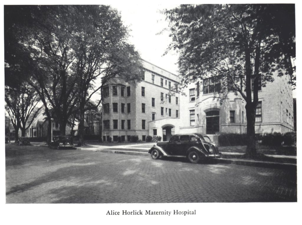 Alice Horlick Maternity Hospital