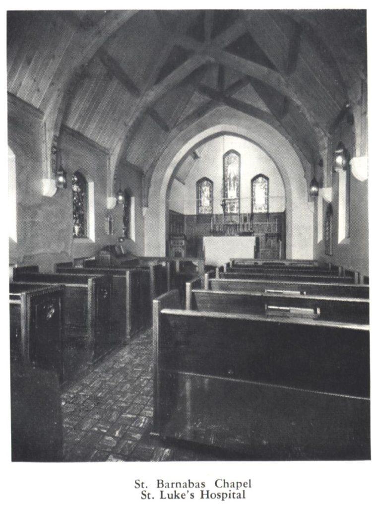 St. Barnabas Chapel in St. Luke's Hospital